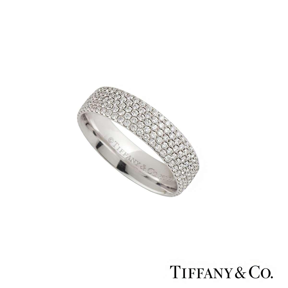 Tiffany Metro Diamond Ring 0.90ct